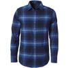 Royal Robbins MERINOLUX FLANNEL L/S SHIRT Herr - BLUE DEPTHS
