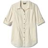 Royal Robbins COOL MESH L/S ECO TUNIC II Dam - CREME
