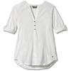 Royal Robbins OASIS TUNIC II 3/4 SLEEVE Dam - WHITE