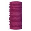 Buff MERINO WOOL BUFF Unisex - RASPBERRY MULTI STRIPES
