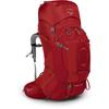 Osprey ARIEL PLUS 60 Dam - CARNELIAN RED