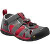 Keen SEACAMP II CNX YOUTH - MAGNET/RACING RED