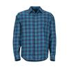Marmot BODEGA LIGHTWEIGHT FLANNEL LS Herr - LATE NIGHT