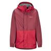 Marmot KID' S PRECIP ECO JACKET Barn - TEAM RED/BRICK
