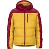 Marmot GUIDES DOWN HOODY Herr - GOLDEN LEAF/BRICK