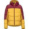 Marmot WM' S GUIDES DOWN HOODY Dam - YELLOW GOLD/CLARET