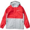 Marmot KID' S PRECIP ECO JACKET Barn - TEAM RED/SLEET