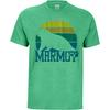 Marmot DAWNING MARMOT TEE SS Herr - GREEN HEATHER
