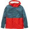 Marmot KID' S PRECIP ECO JACKET Barn - VICTORY RED/STARGAZER