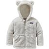 Patagonia BABY FURRY FRIENDS HOODY Barn - BIRCH WHITE