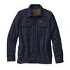 Patagonia M' S INSULATED FJORD FLANNEL JACKET Herr - NAVY BLUE