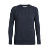 Icebreaker WMNS WAYPOINT CREWE SWEATER Dam - MIDNIGHT NAVY
