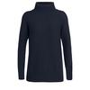 Icebreaker WMNS WAYPOINT ROLL NECK SWEATER Dam - MIDNIGHT NAVY