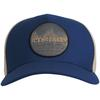 Icebreaker UNISEX ICEBREAKER GRAPHIC HAT Unisex - ESTATE BLUE/BRITISH TAN