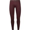 Icebreaker 200 OASIS LEGGINGS Dam - REDWOOD