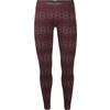 Icebreaker 250 VERTEX LEGGINGS CRYSTALLINE Dam - REDWOOD