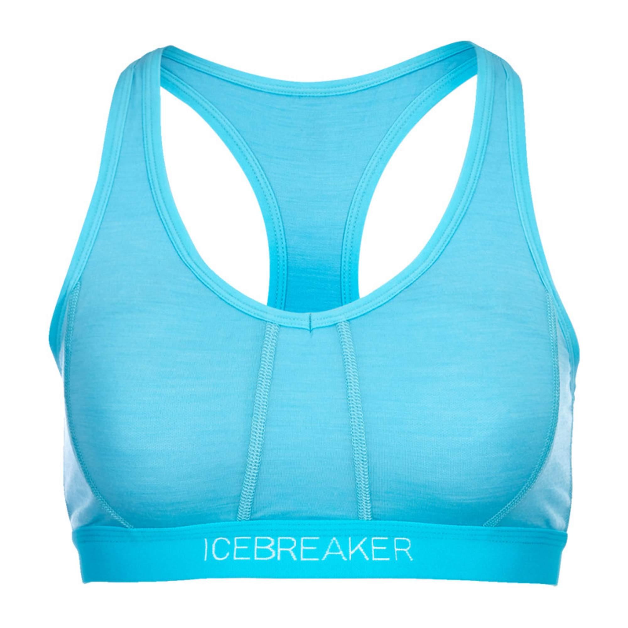 Icebreaker Sprite Racerback Bra 150 Frauen Gr. XL - Sport BH - blau