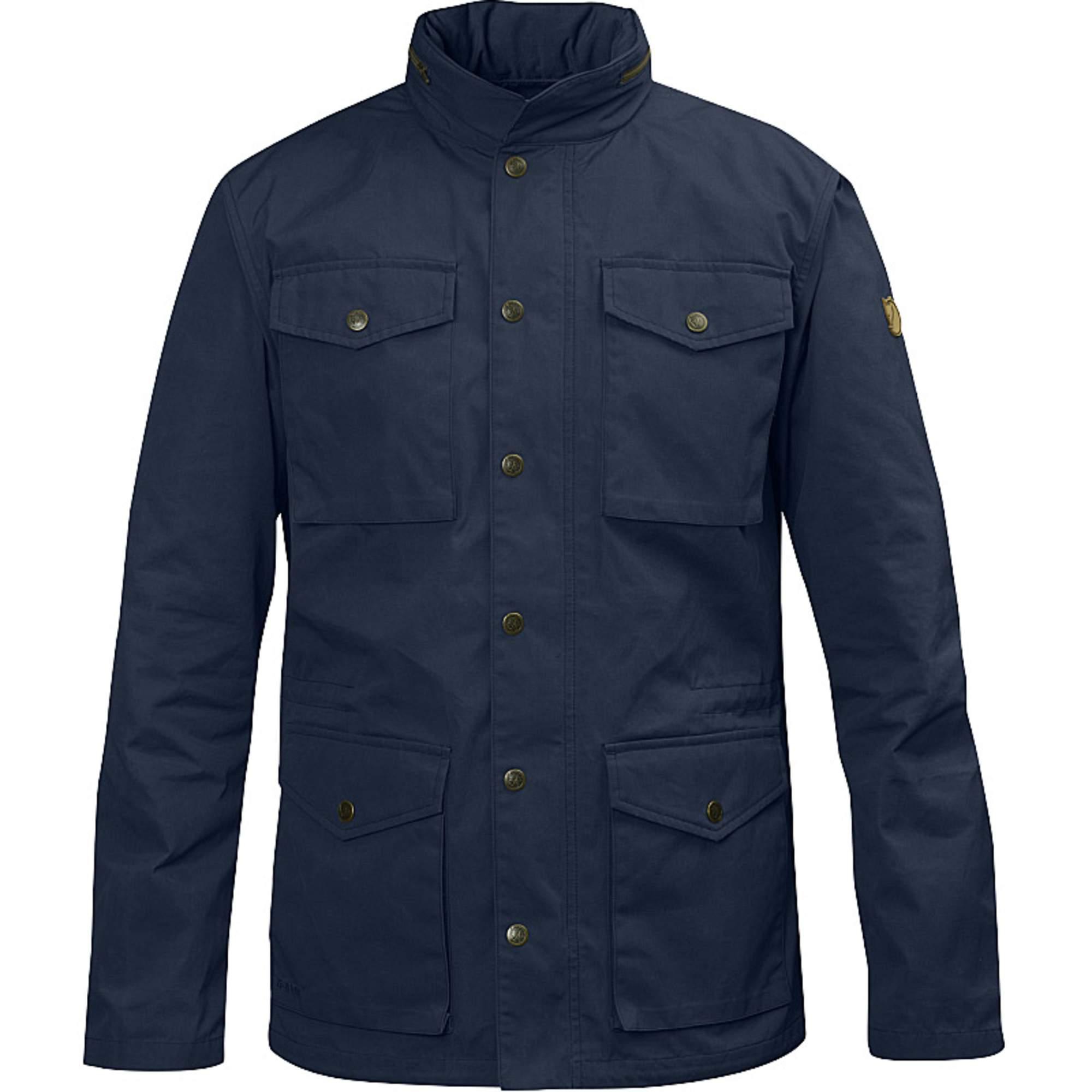 Fjällräven Räven Jacket Männer Gr. S - Übergangsjacke - blau 82422 555
