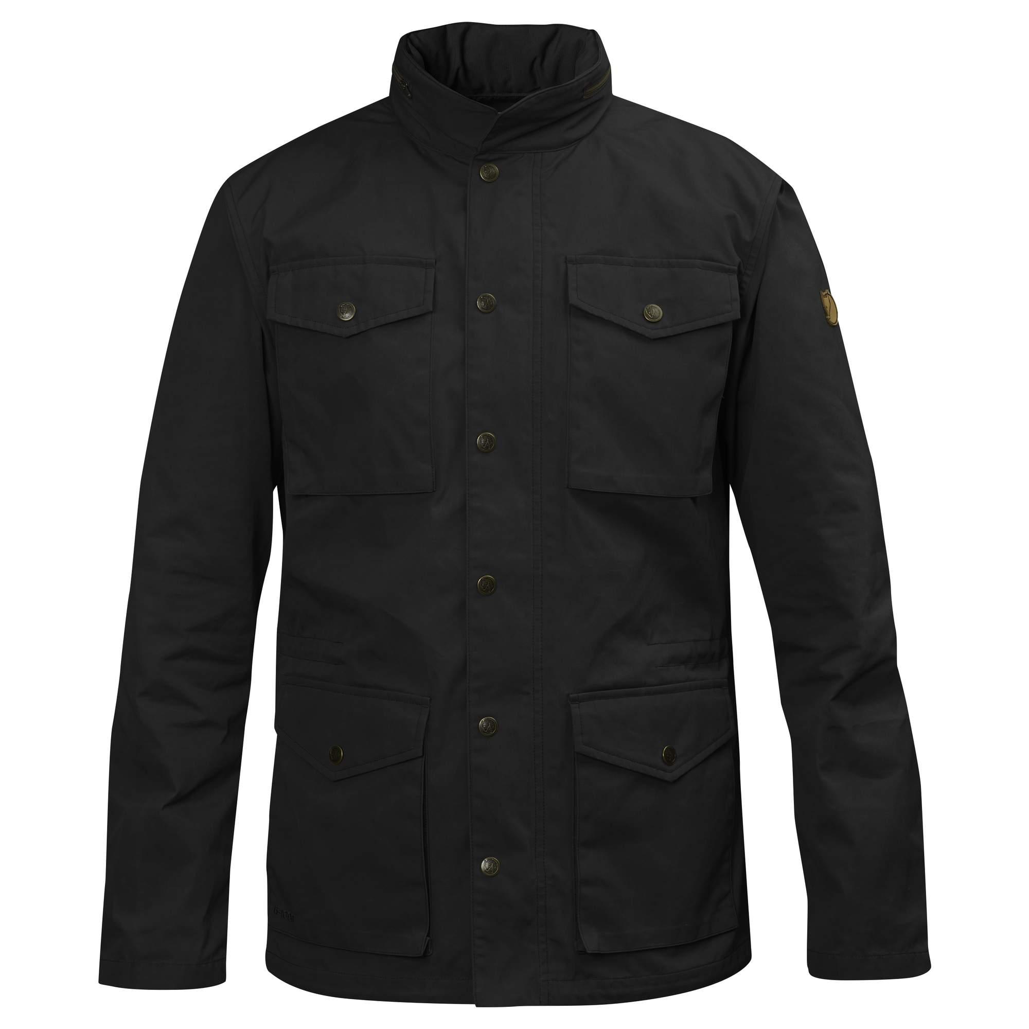 Fjällräven Räven Jacket Männer Gr. S - Übergangsjacke - schwarz 82422 550