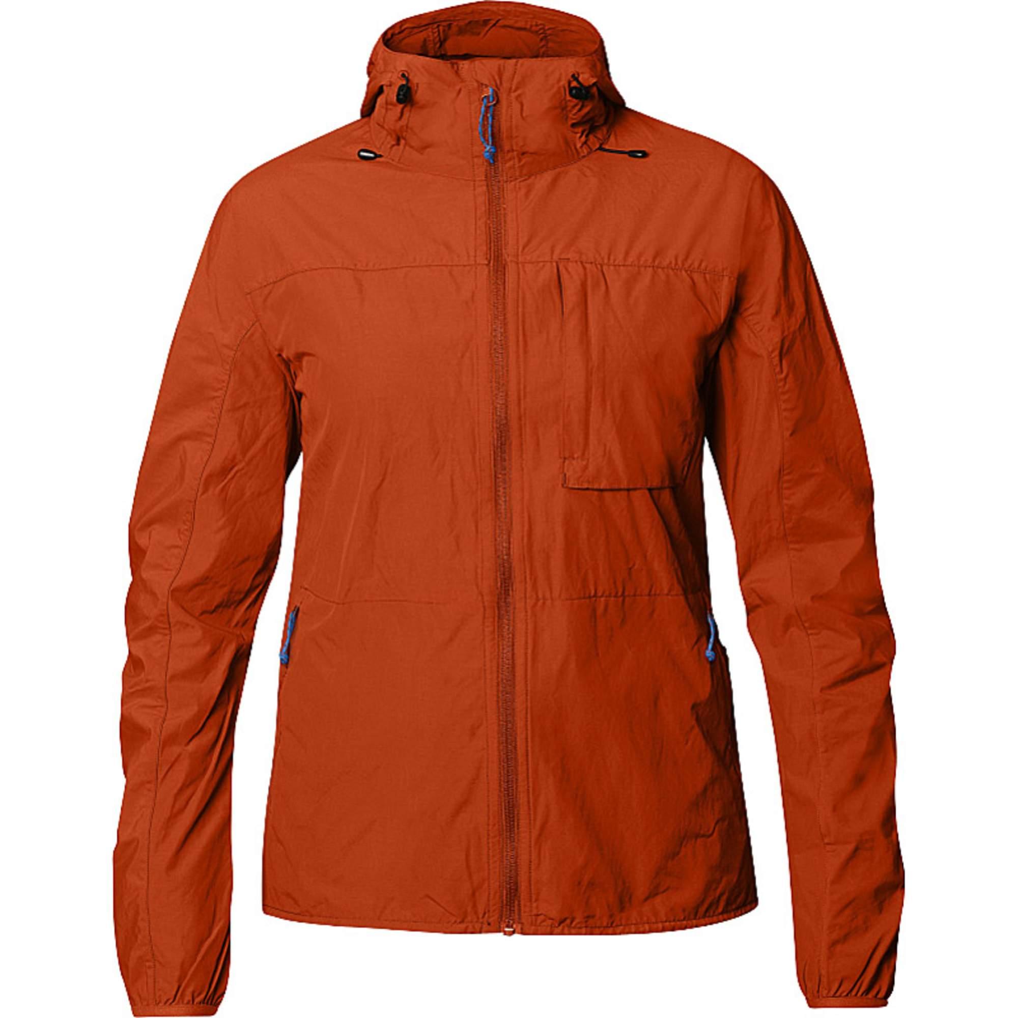 Fjällräven High Coast Wind Jacket Frauen Gr. XL - Übergangsjacke - rotbraun